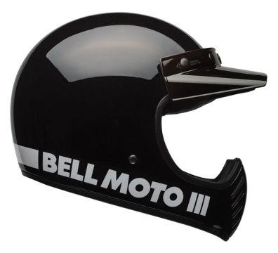 CASCO BELL MOTO 3 CLASSIC BLACK