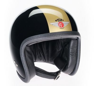 CASCO DAVIDA SPEEDSTER BLACK GOLD TT