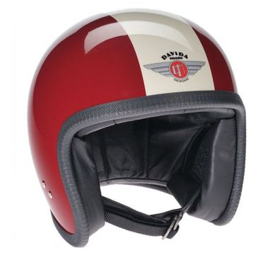 CASCO DAVIDA SPEEDSTER MAROON CREAM TT