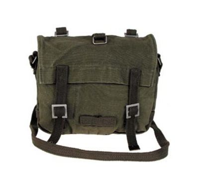 BOLSO COMBAT GREEN STONE WASHED