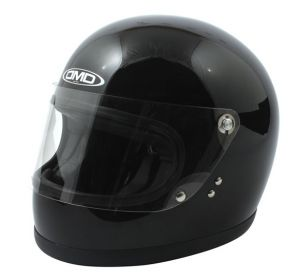 CASCO DMD VINTAGE ROCKET BLACK