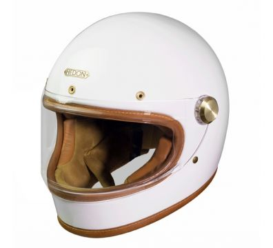 CASCO HEDON HEROIN RACER KNIGHT WHITE