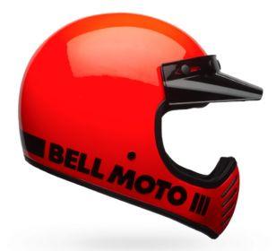CASCO BELL MOTO 3 CLASSIC ORANGE