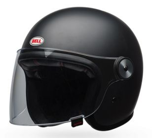 CASCO BELL RIOT SOLID MATT BLACK