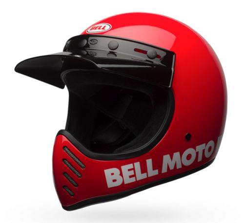 CASCO BELL MOTO 3 CLASSIC RED