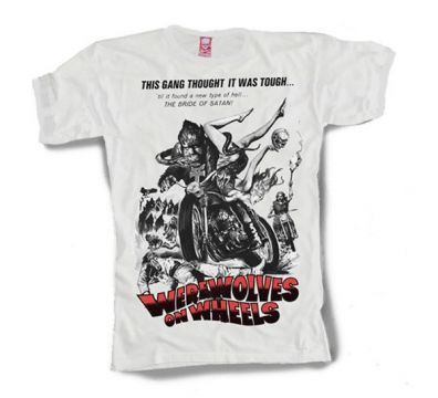 CAMISETA WEREWOLVES ON WHEELS