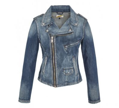 CAZADORA SCHOTT PERFECTO DENIM JACKET JKTW