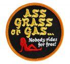 PARCHE ASS GRASS OR GAS