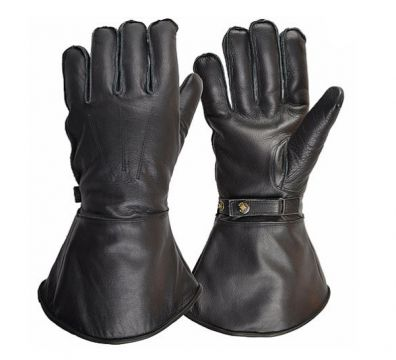 GUANTES GOLDTOP ENGLAND SHEEPSKIN LINED GAUNTLET BLACK
