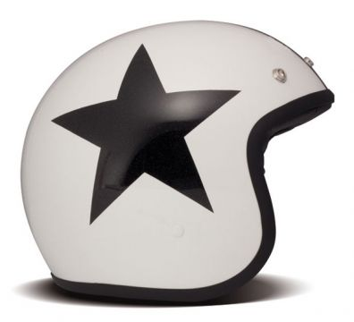CASCO DMD VINTAGE MATT STAR WHITE