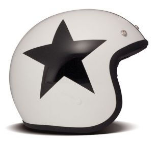 CASCO DMD VINTAGE MATT STAR WHITE