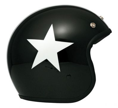 CASCO DMD VINTAGE MATT STAR BLACK