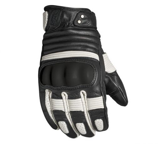 GUANTES ROLAND SANDS BERLIN BLACK WHITE