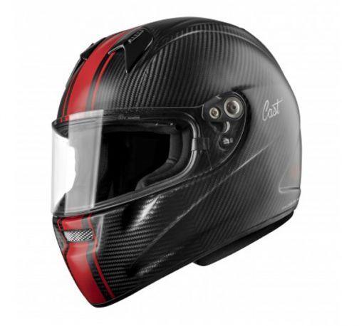 CASCO CAST CM5 CARBON RACE MATT CARBON RED