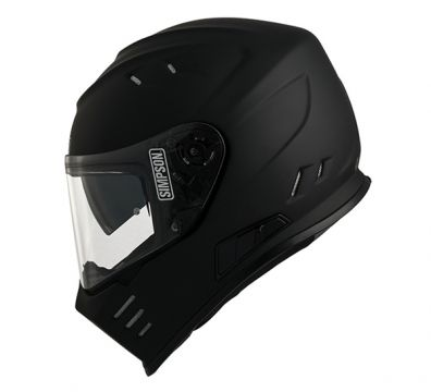 CASCO SIMPSON VENOM MATT BLACK