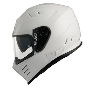 CASCO SIMPSON VENOM WHITE