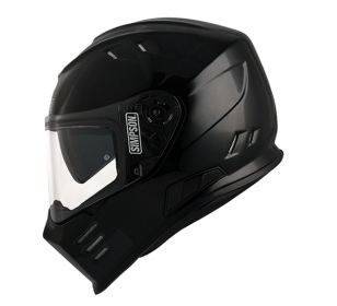 CASCO SIMPSON VENOM BLACK METAL