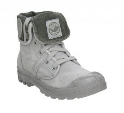 BOTAS PALLADIUM VINTAGE CANVAS PALLABROUSE BAGGY METAL