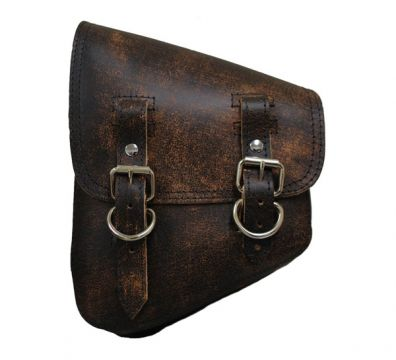 LA ROSA SOLO SADDLEBAG RUSTIC BROWN