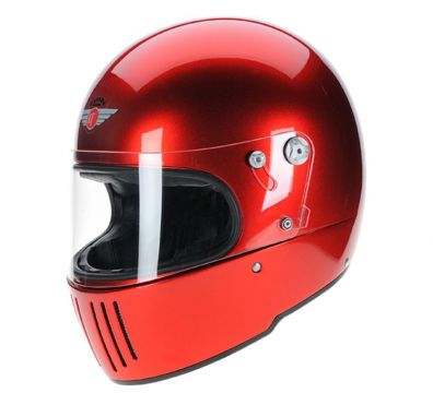 CASCO DAVIDA KOURA CANDY RED