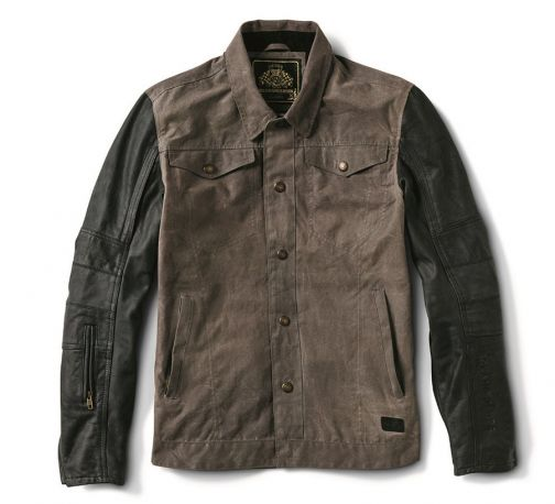CHAQUETA ROLAND SANDS JOHNNY CHARCOAL