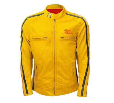 CHAQUETA RUSTY STITCHES BILLY YELLOW