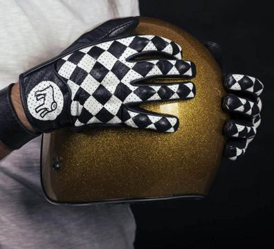 GUANTES HOLY FREEDOM BULLIT BLACK WHITE