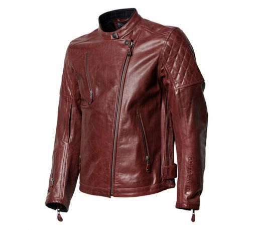 CAZADORA ROLAND SANDS RS SIGNATURE CLASH OXBLOOD