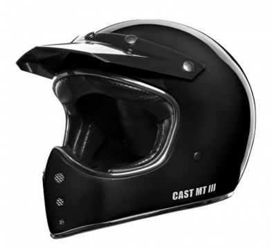 CASCO CAST MT III NEGRO BRILLO
