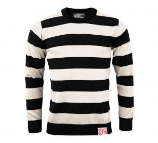OUTLAW SWEATER BLACK OFF WHITE