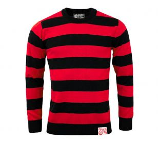 OUTLAW SWEATER BLACK OFF RED