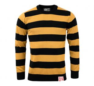 OUTLAW SWEATER BLACK OFF YELLOW