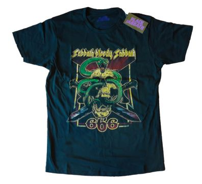 CAMISETA UNISEX BLOODY SABBATH 666