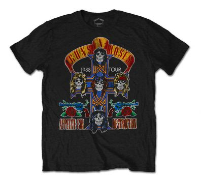 CAMISETA UNISEX GUNS N' ROSES NJ SUMMER JAM 1988