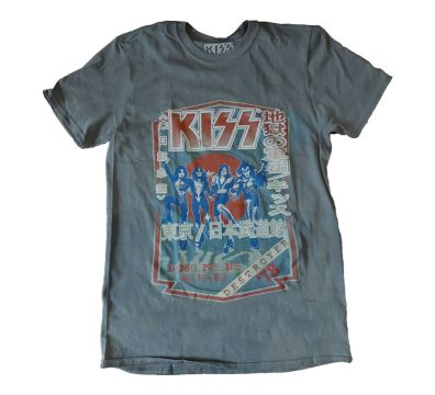 CAMISETA UNISEX KISS DESTROYER TOUR '78