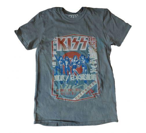 CAMISETA UNISEX KISS DESTROYER TOUR '78