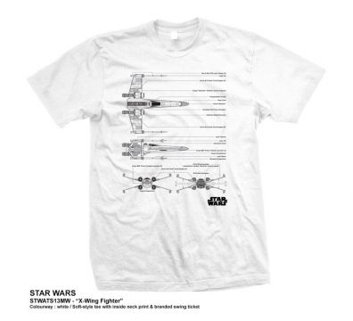 CAMISETA UNISEX STAR WARS X-WING FIGHTER