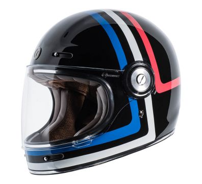 CASCO TORC T1 RETRO FULL FACE AMERICANA TRON