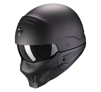 CASCO SCORPION EXO COMBAT EVO MATT BLACK