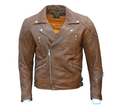 CAZADORA GOLDTOP 619 REBEL BROWN CE ARMOURED