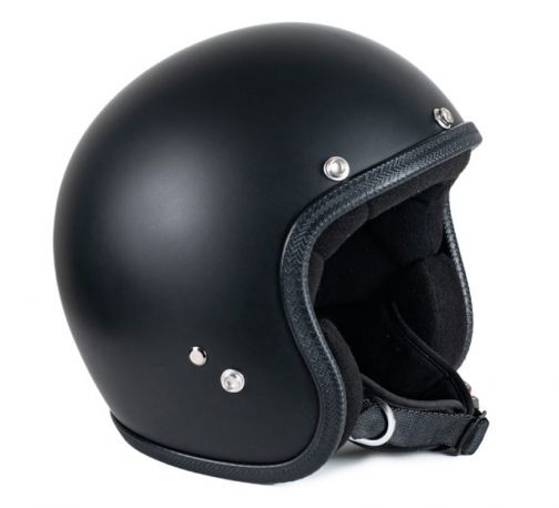 CASCO SEVENTIES PASTELLO MAT BLACK
