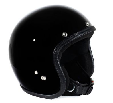 CASCO SEVENTIES PASTELLO GLOSSY BLACK