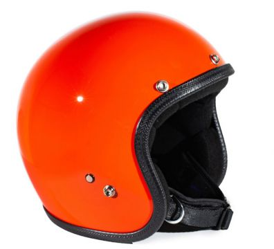 CASCO SEVENTIES PASTELLO ORANGE