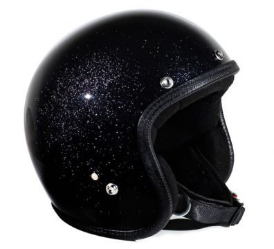 CASCO SEVENTIES METALFLAKES BLACK