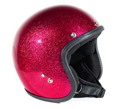 CASCO SEVENTIES METALFLAKES FUCXIA