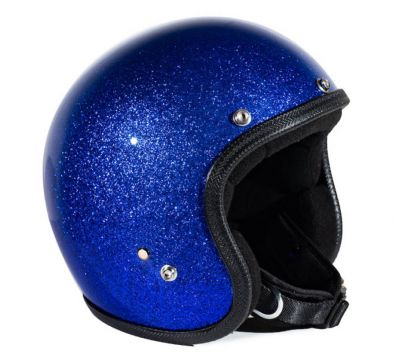 CASCO SEVENTIES METALFLAKES BLUE