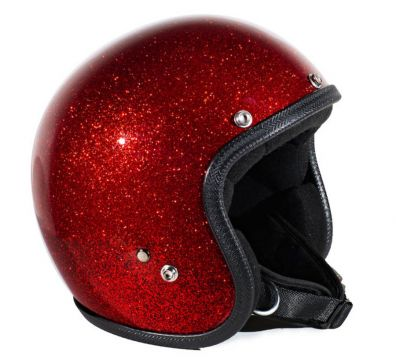 CASCO SEVENTIES METALFLAKES RED