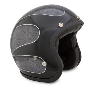 CASCO SEVENTIES SUPERFLAKES BLACK SCALLOPS 16