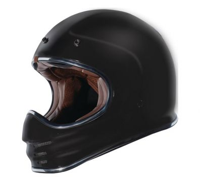 CASCO TORC T3 RETRO MX MATT BLACK