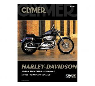 CLYMER SERVICE MANUAL 86-03 SPORTSTER